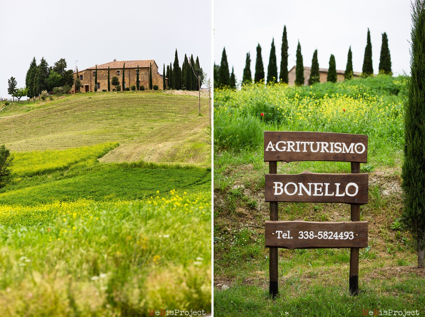 bonello farmhouse in san quirico d'orcia