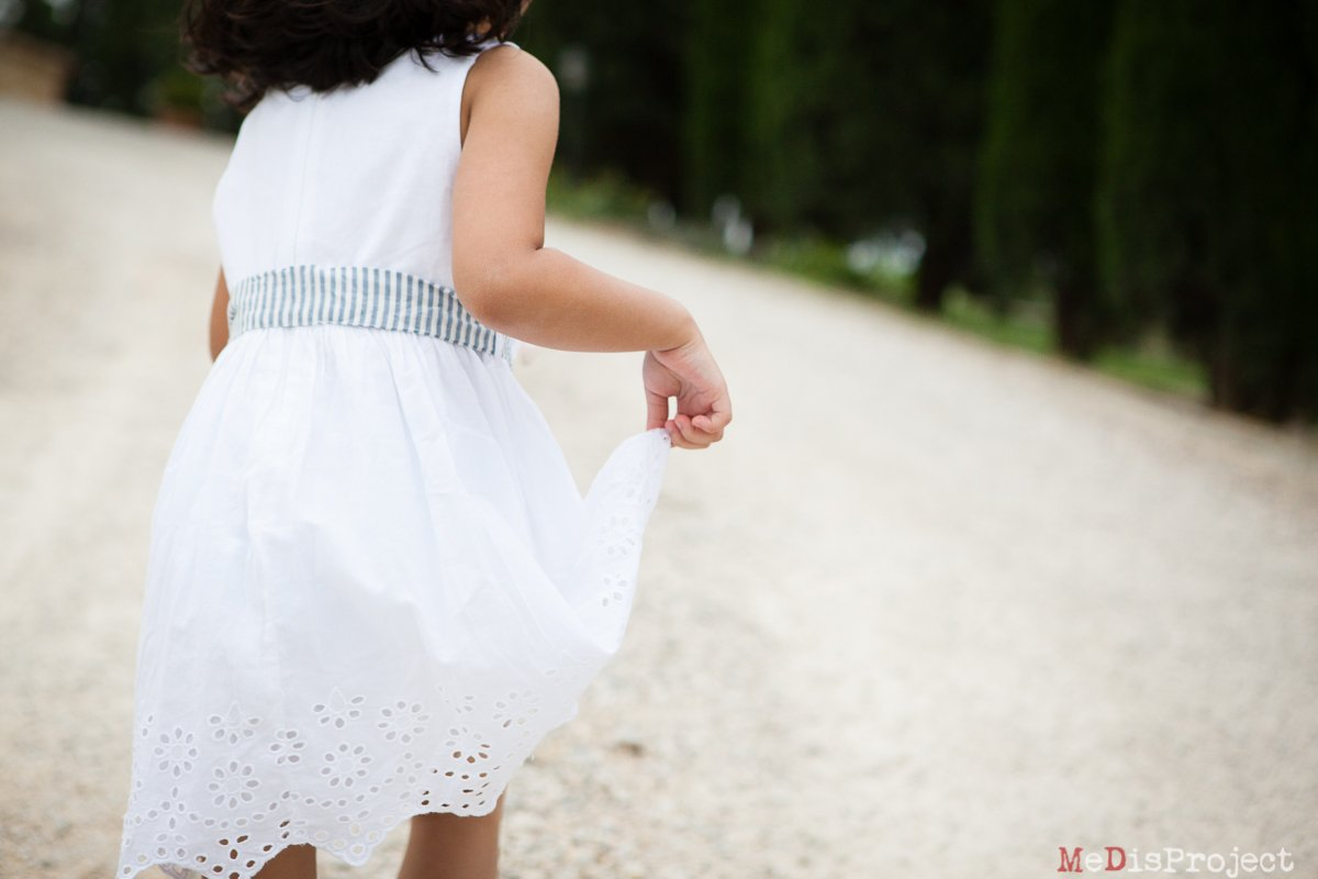 little white spring dress