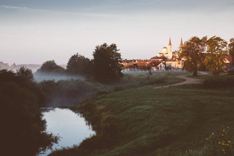 Lithuania Rietavas early morning
