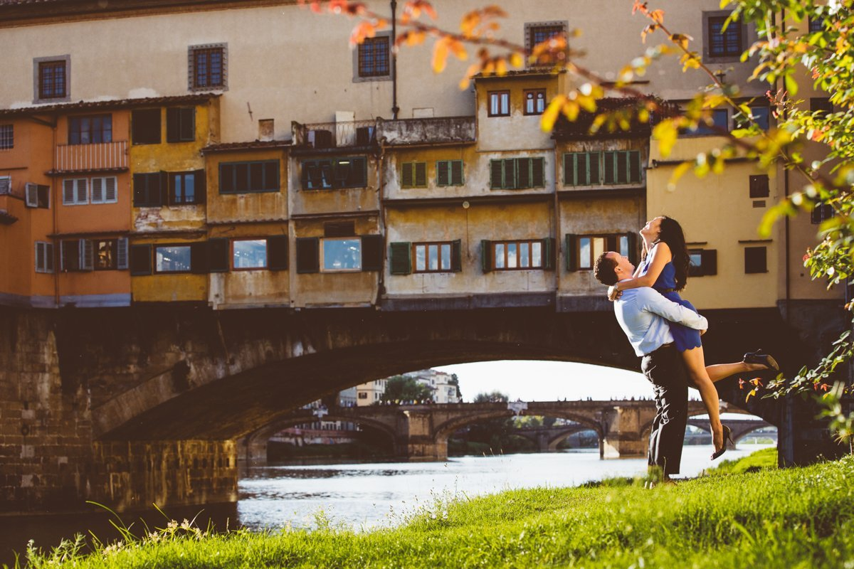 Couple photo session in Florence Tuscany