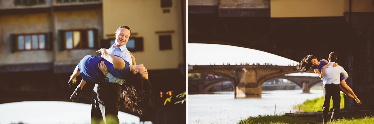 Couple photographers in Florence Italy