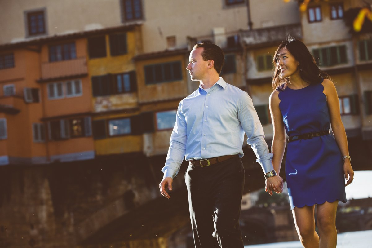 Professional Couple photographers in Florence Italy