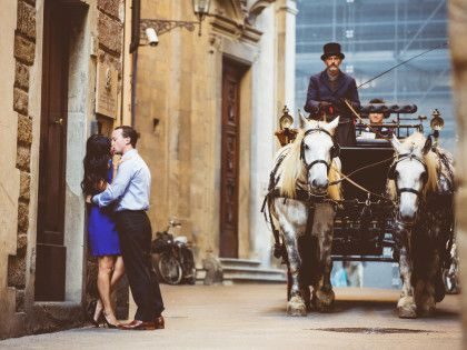 Engagement photo session in Florence | Romantic photography in Tuscany