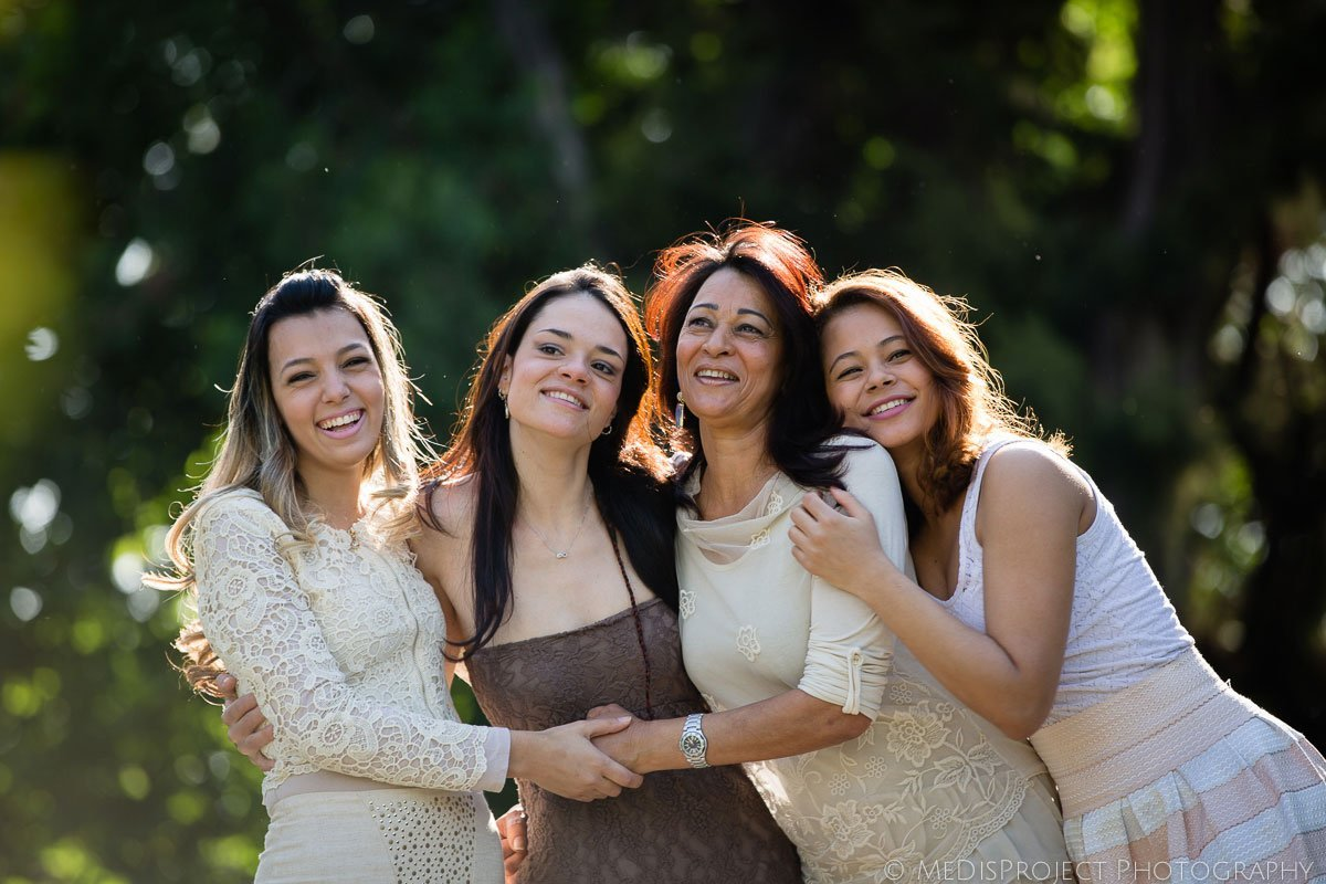 Mother-daughters photo session in Florence