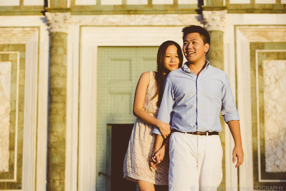 Pre-wedding photo session in Tuscany