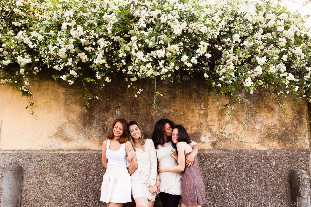 spring photo session for women in Florence
