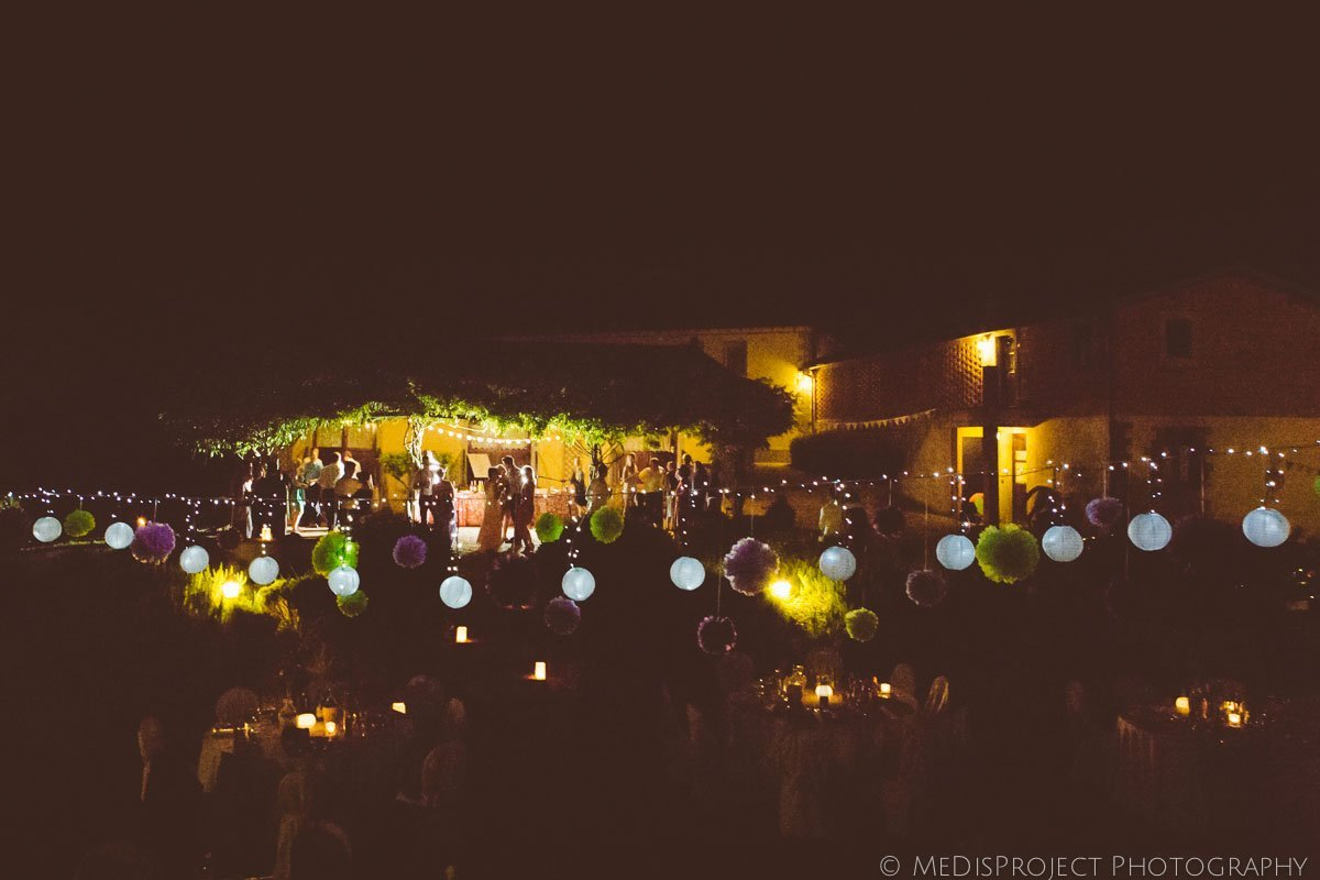 wedding party at Agriturismo il Mattone