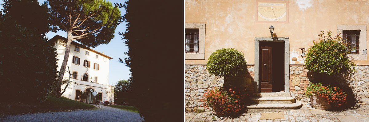 Stylish wedding at Villa il Castagno