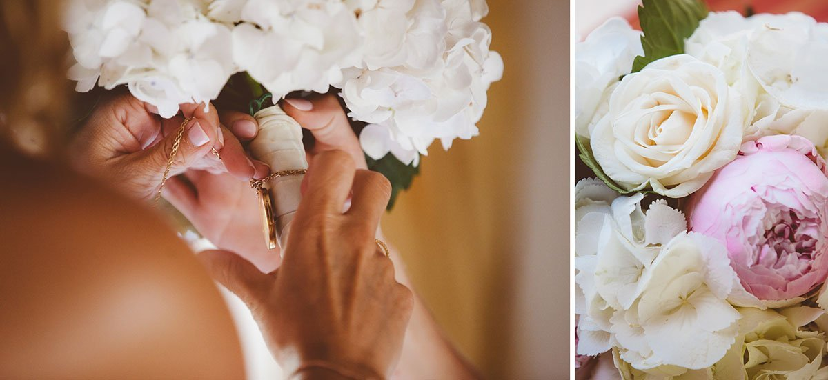 flowers of a bride