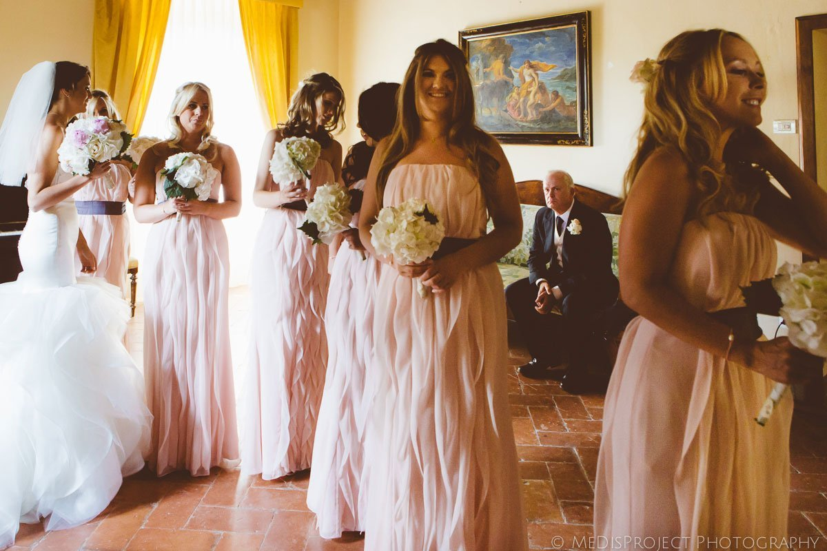 Stylish wedding at il Castagno