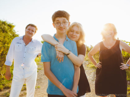 A big family photo shoot |  A Russian Family trip in Tuscany