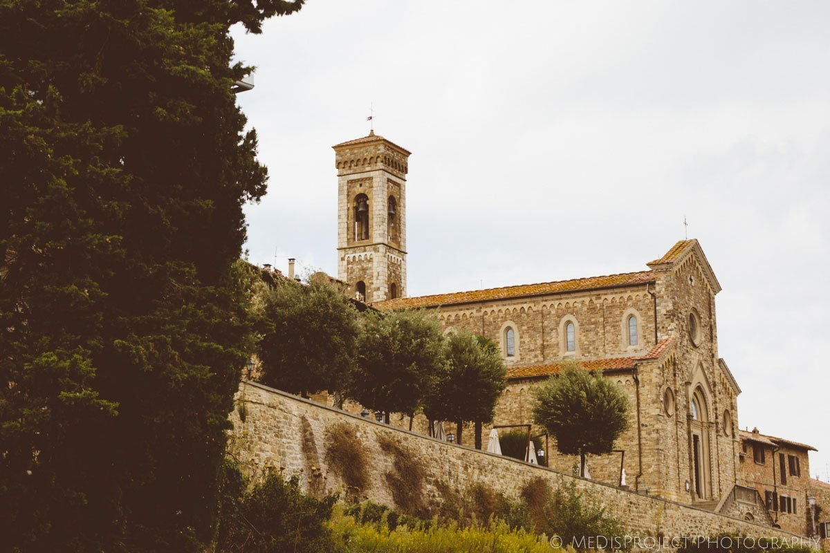 medieval church of Barberino Val d'Elsa