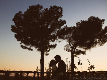 Religious ceremony in Florence |  Cosy wedding reception at Villa di Bivigliano