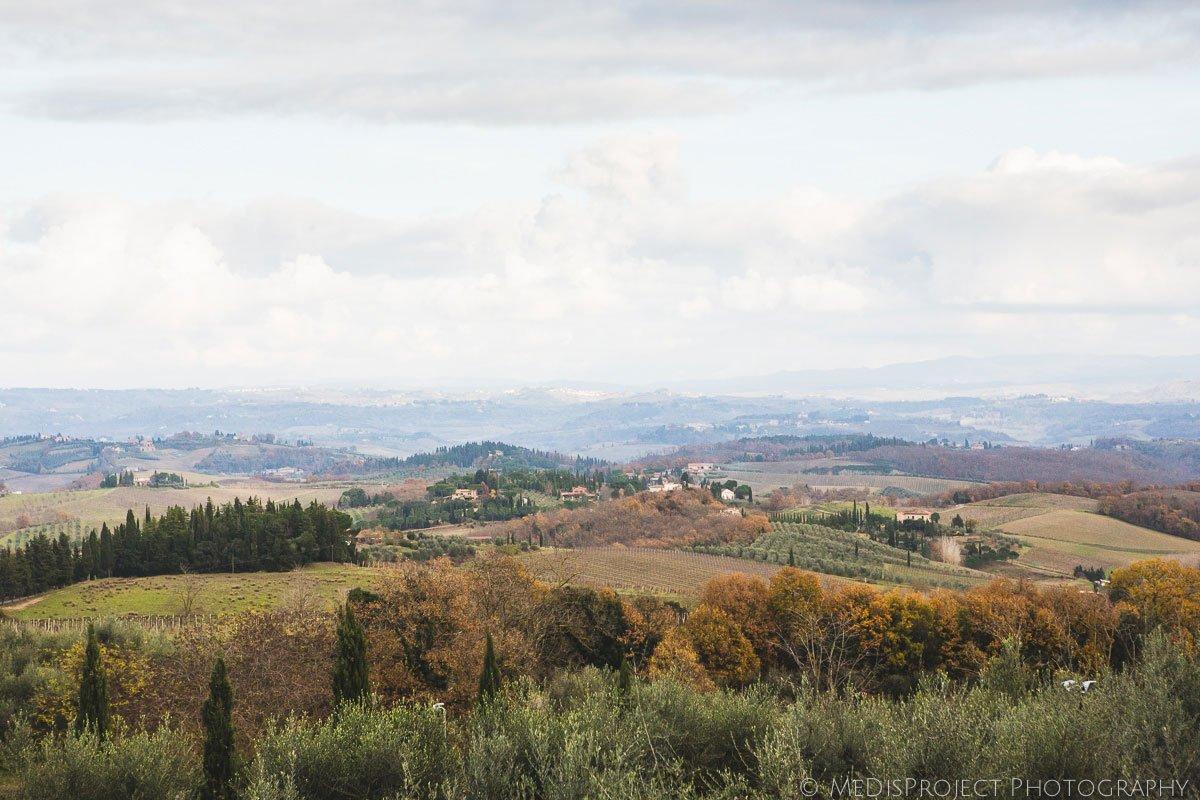 Val d'Elsa landscape