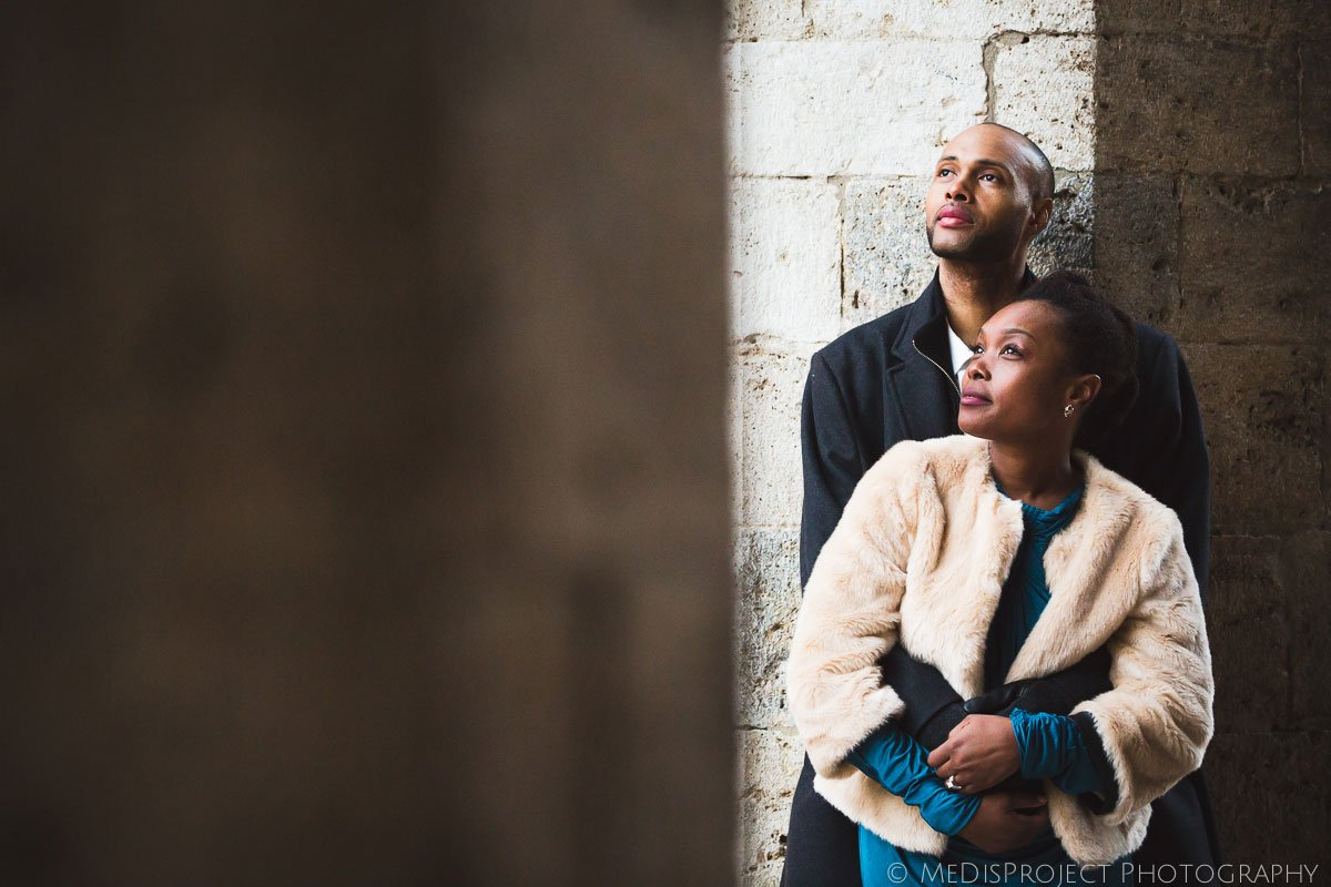 San Gimignano Winter Elopement photos