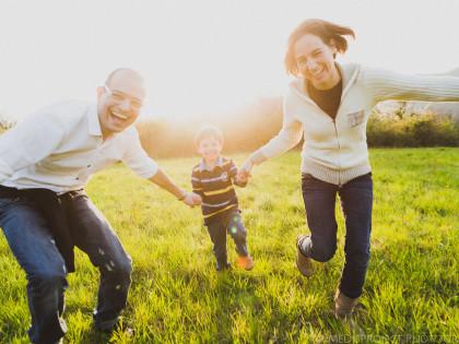 Springtime family portrait | Photo session in Mugello