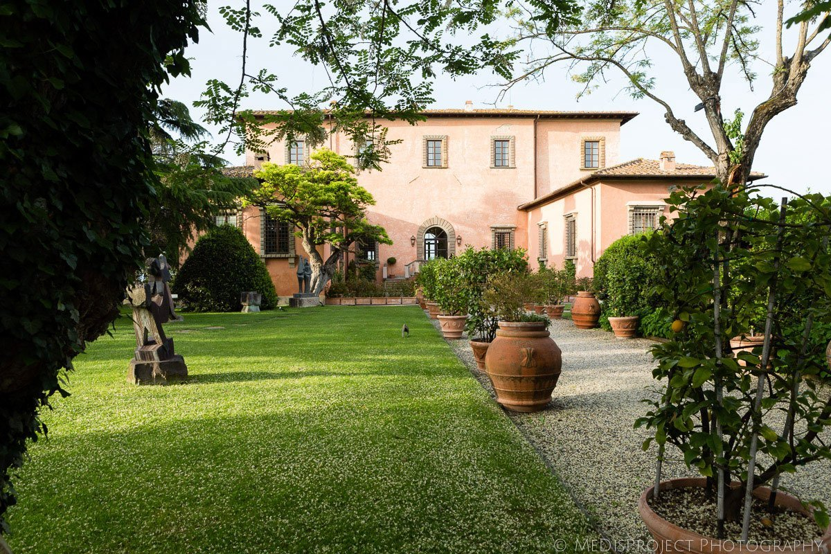 villa mangiacane, in the tuscan countryside