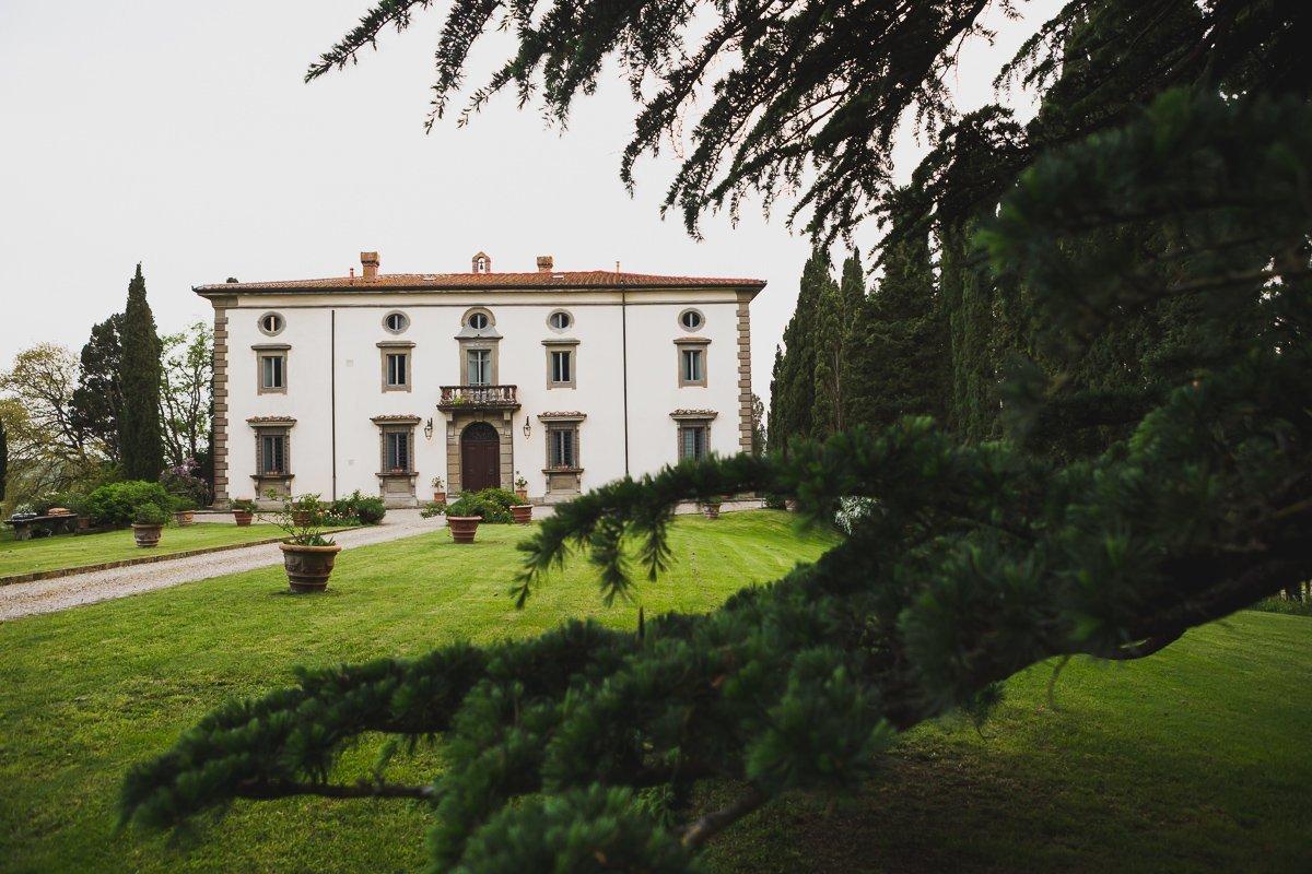 villa di bivigliano in tuscany