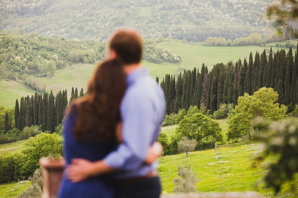 Wedding proposal in Florence Italy