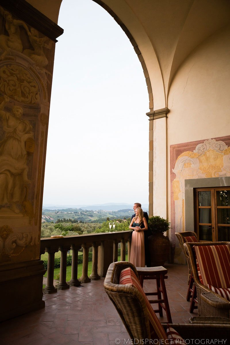 surprise marriage proposal in Florence Tuscany