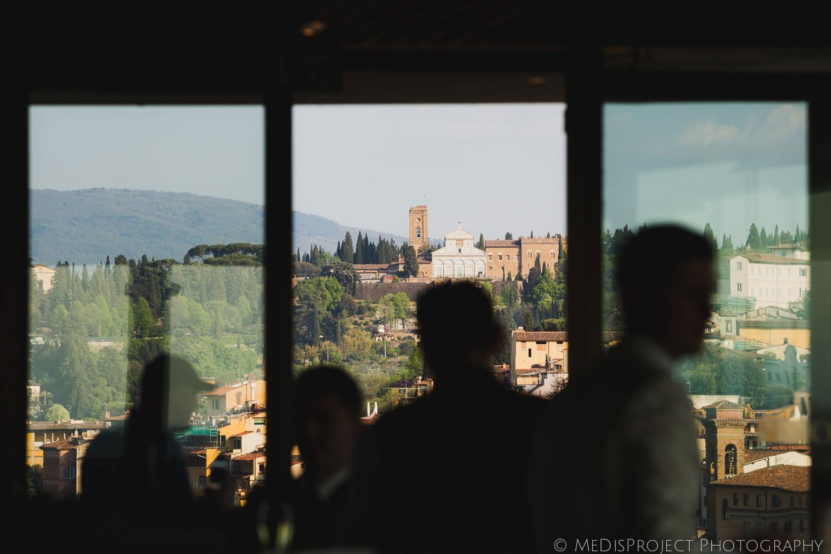 san miniato church seen from sesto on arno in florence