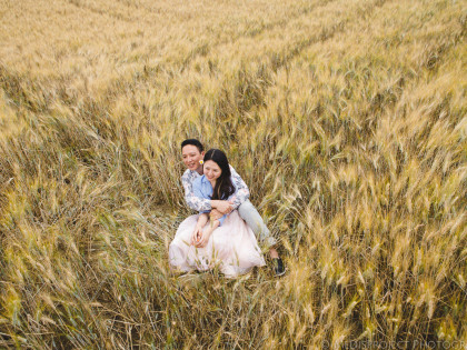 Wedding anniversary photo session in Tuscany
