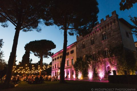 Borgo Pignano Tuscan wedding location