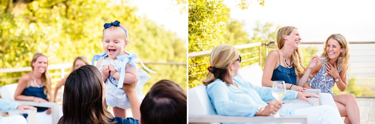 funny moments during a family photo session in Tuscany