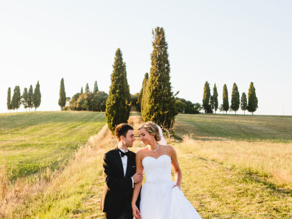 Intimate Ceremony in Tuscany | Destination wedding in Italy