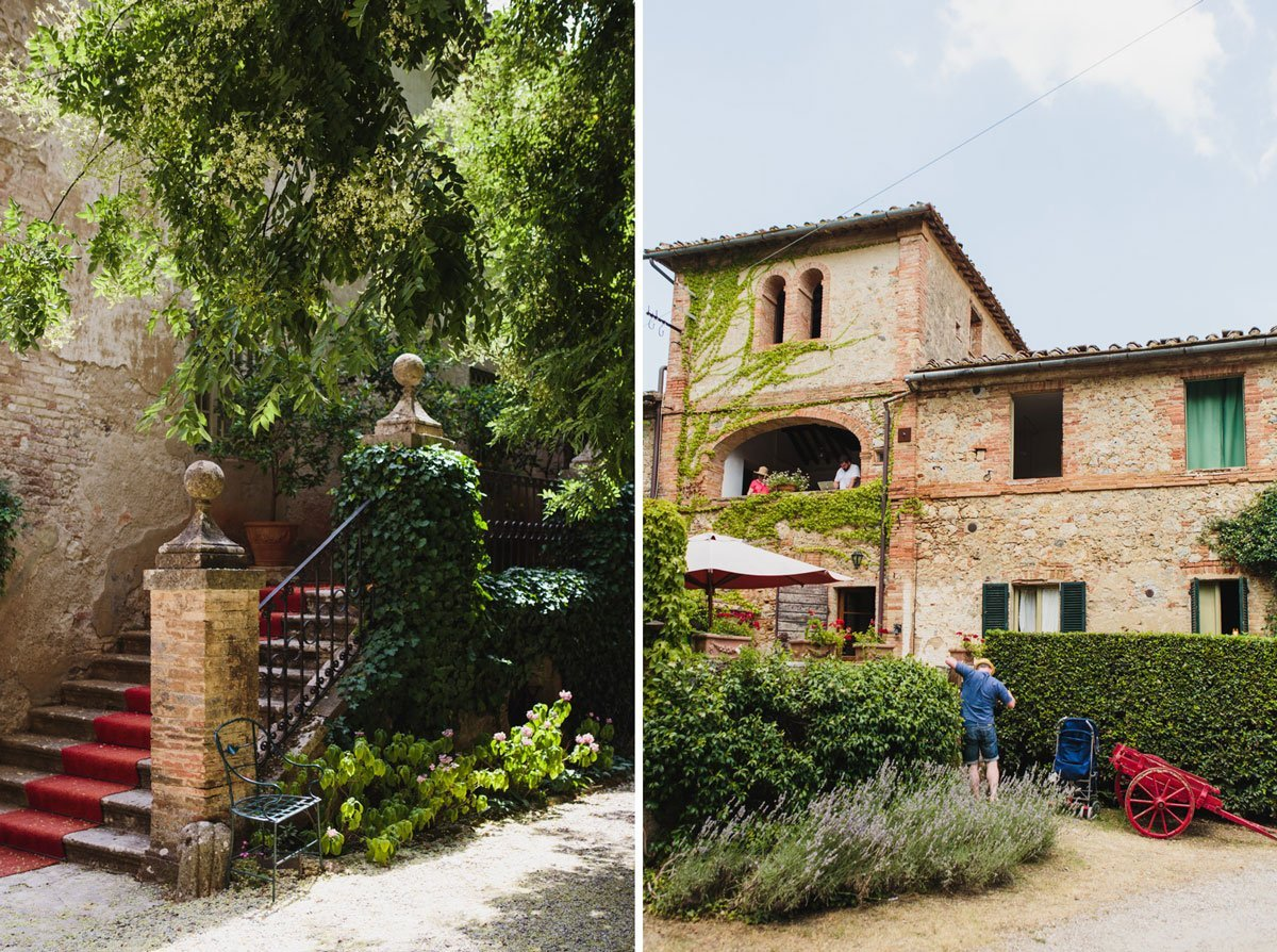 Borgo Stomennano in Tuscany, Italy
