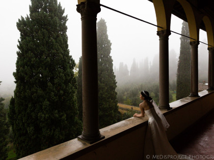 Autumn photo session in Florence | Eloping at Villa Agape
