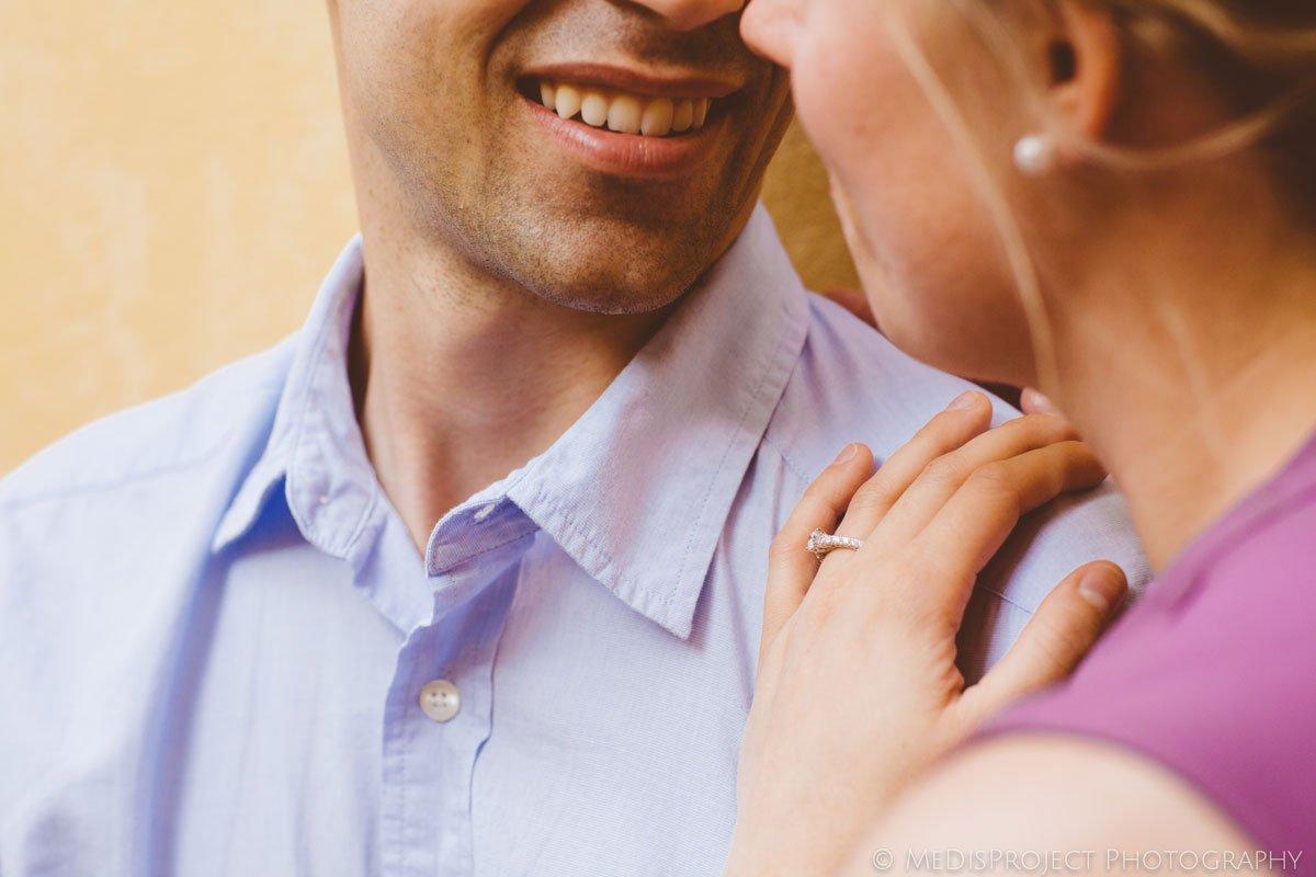 Surprise wedding proposal photo session