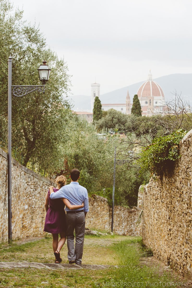 Surprise wedding proposal photo sessions in Florence