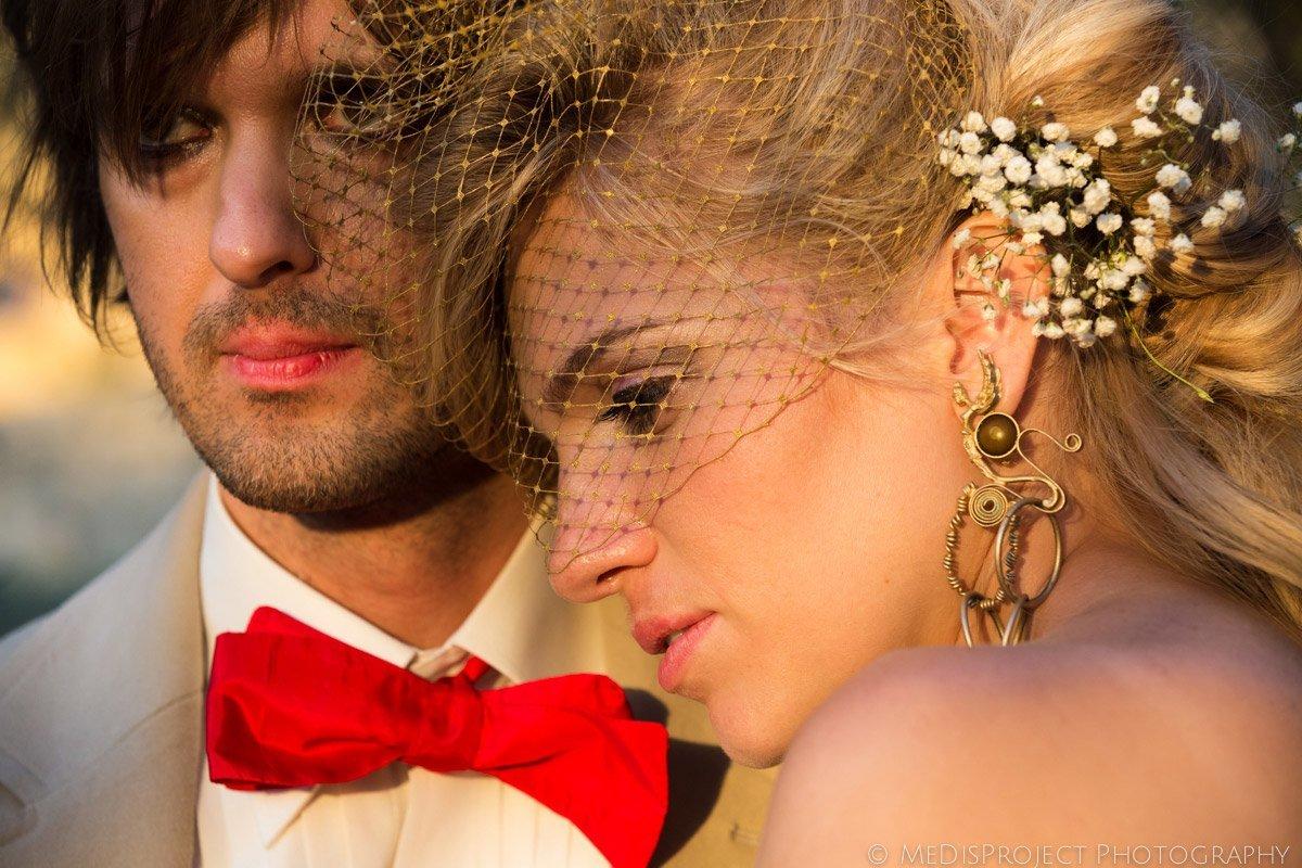 Alternative wedding in Tuscany