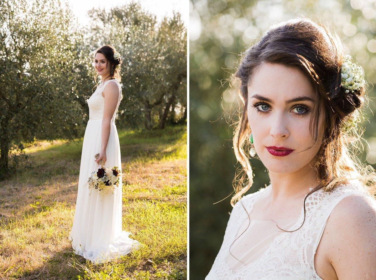 Charming Wedding bridal portrait