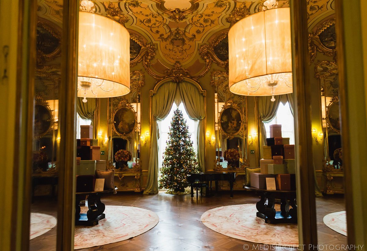 Christmas time at Villa Cora in Florence