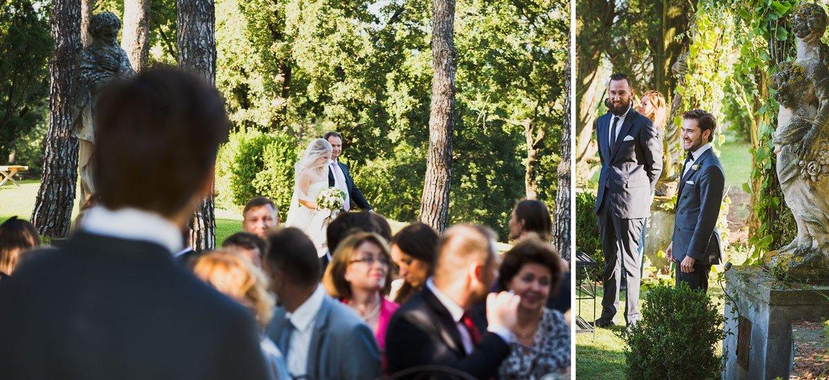 a Styilish wedding at Villa Tavernaccia Florence