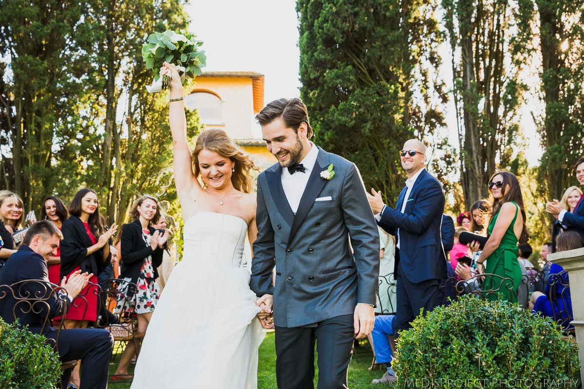 Stylish wedding at Villa Tavernaccia