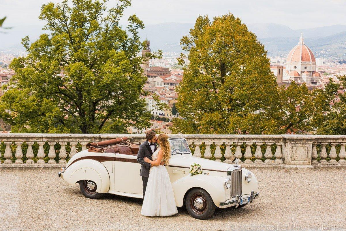 stylish wedding in Florence, Italy