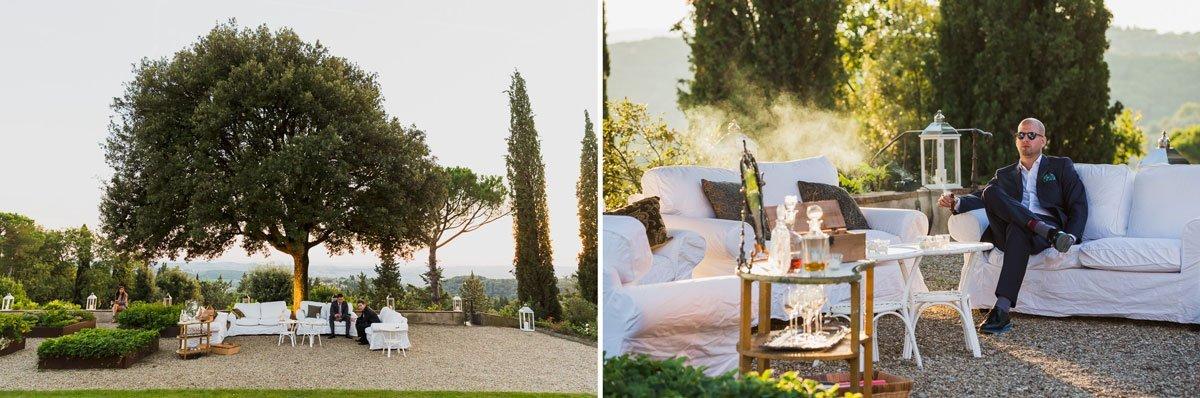 elegant wedding location in Tuscany