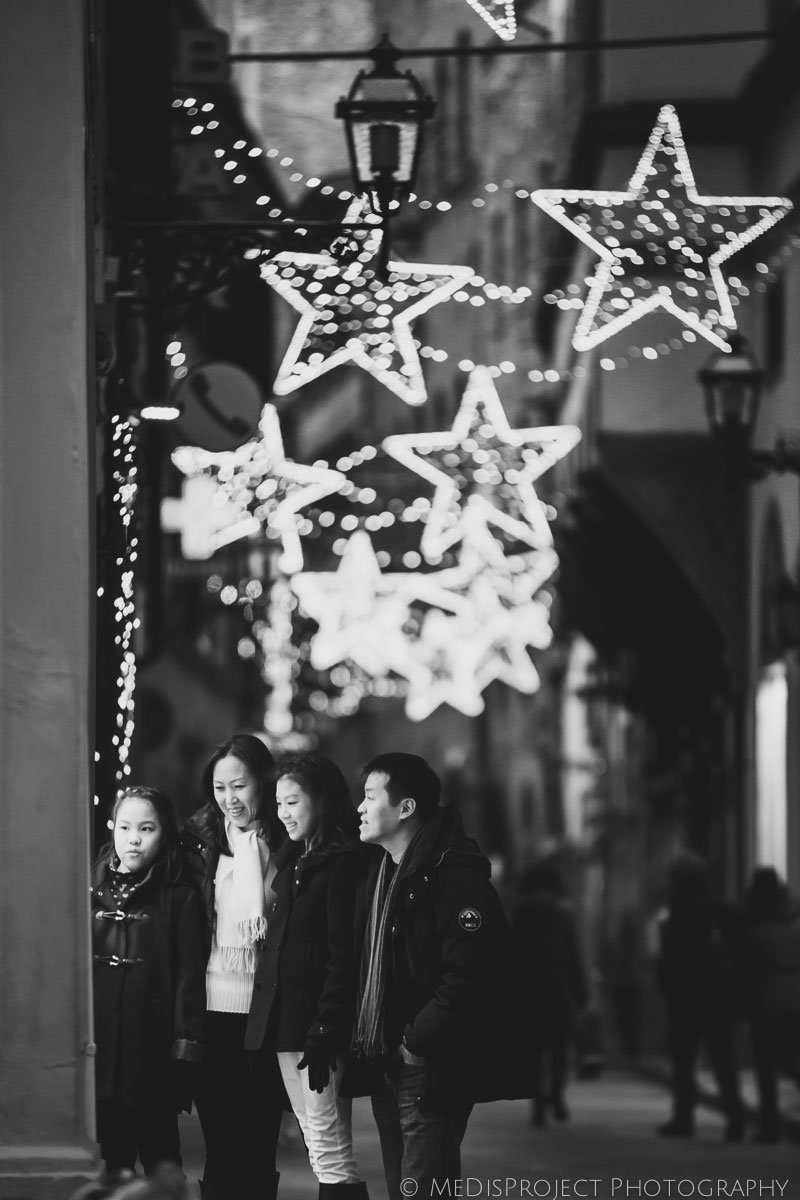 Christmas time in Florence photo session