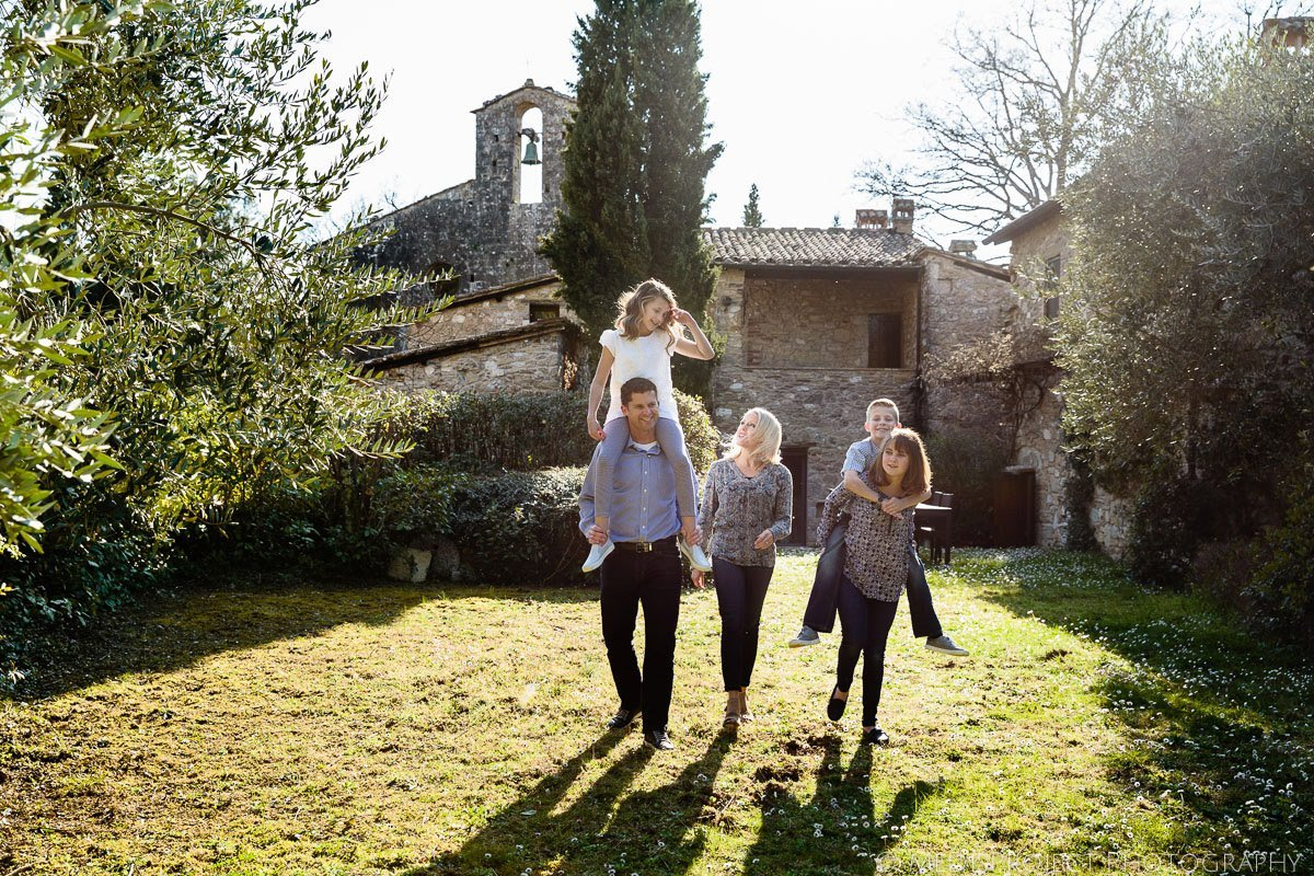 Family Vacation in Tuscany