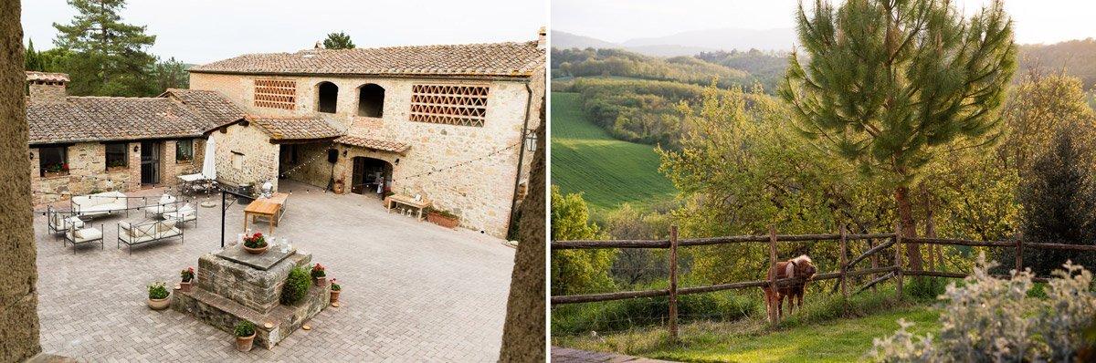 Wedding venue Tenuta di Papena, in Chiusdino Tuscany
