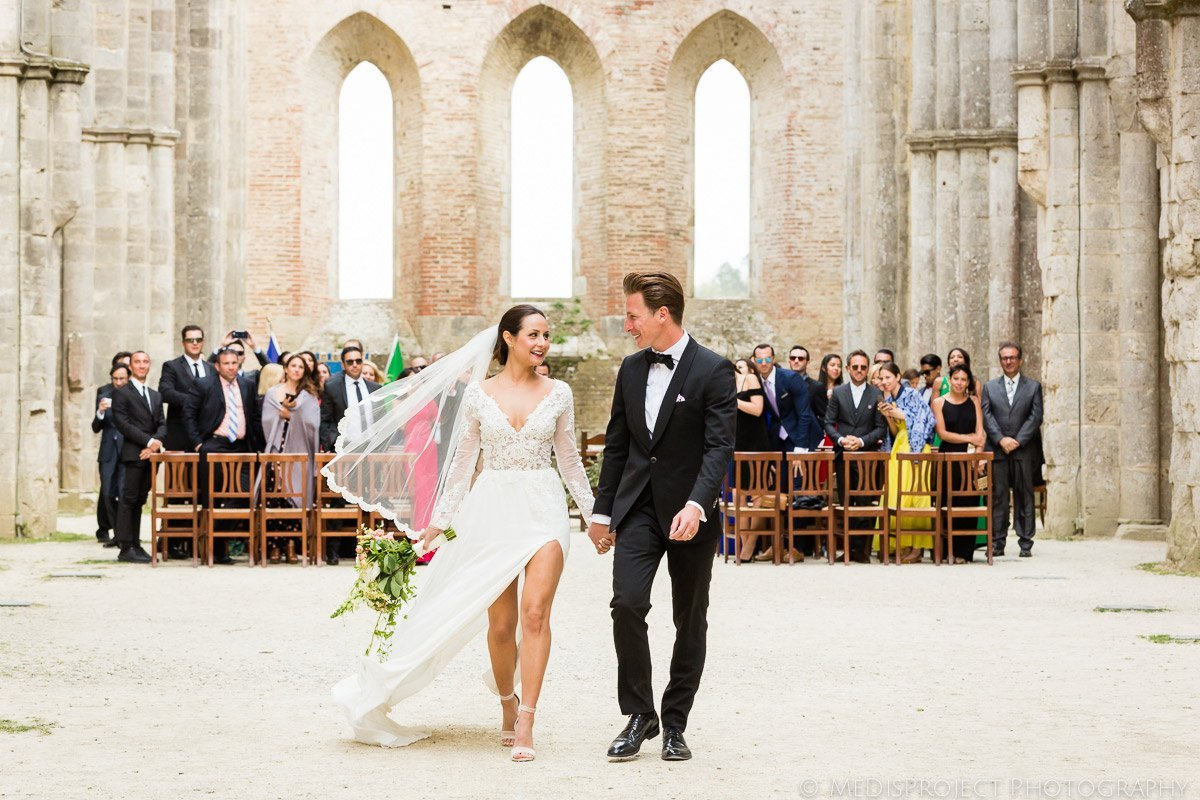 San Galgano Countryside wedding