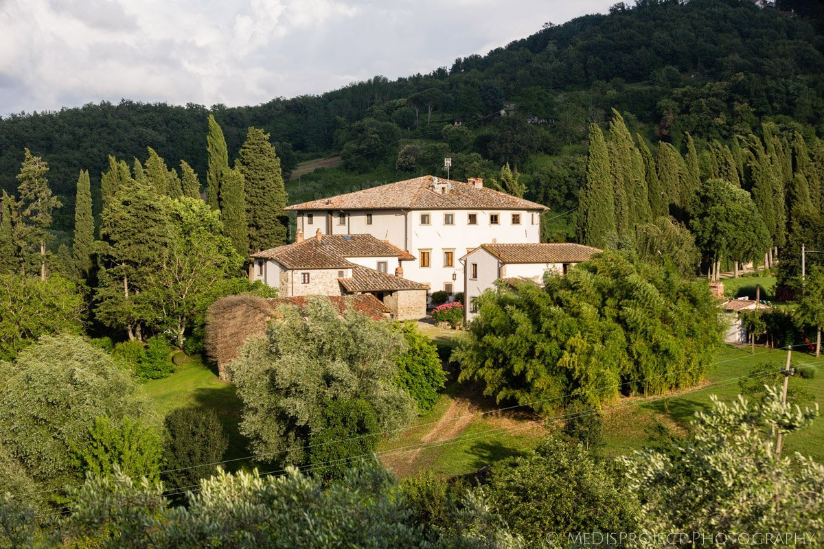 Villa Campestri olive oil resort in Tuscany