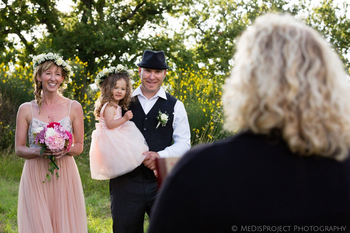 Intimate countryside elopement at Villa Campestri
