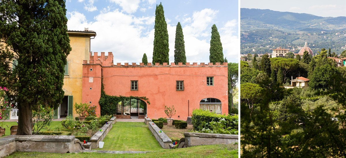 Villa Poggio San Felice in Florence, Tuscany