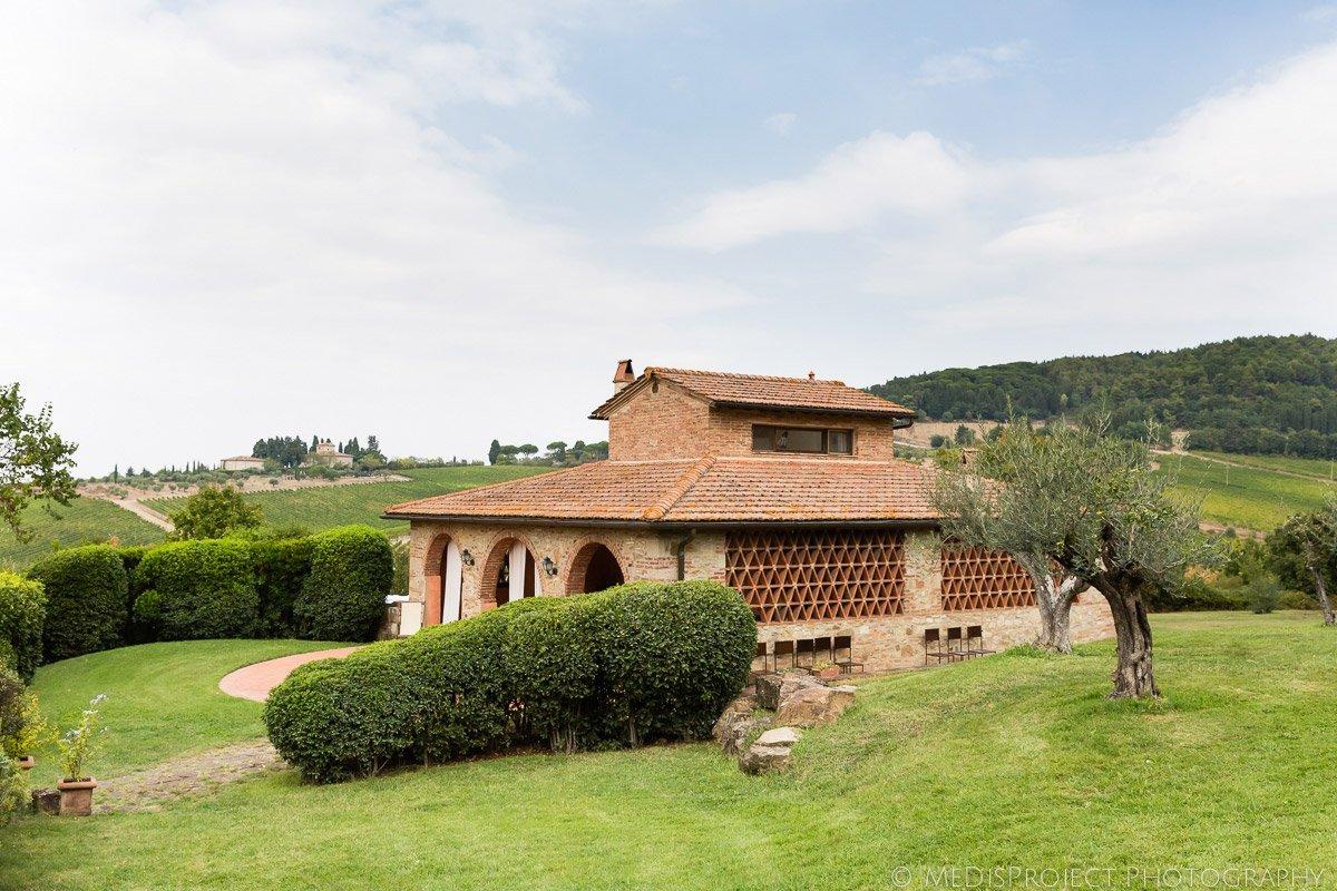 Antinori's Fonte dei Medici in Tuscany