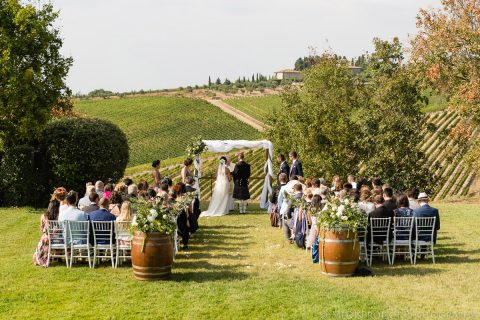 A country chic wedding at Fonte de Medici