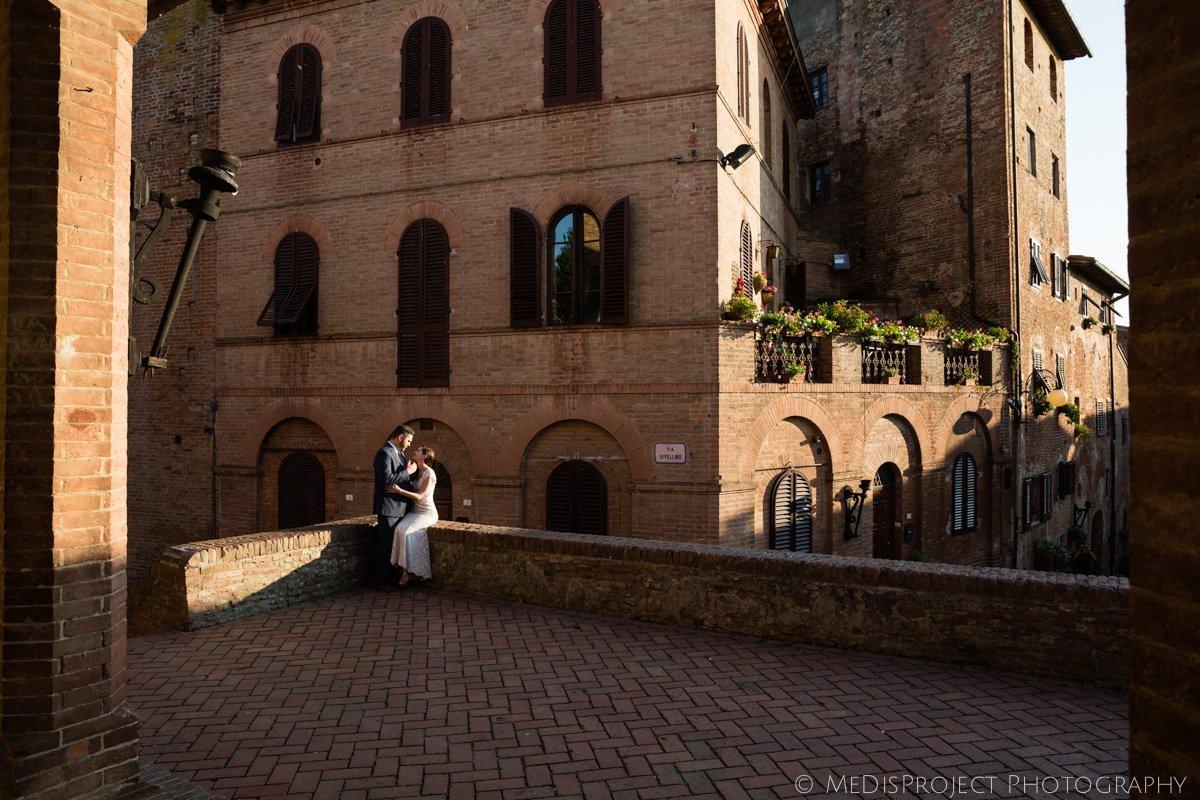 Wedding photos in Certaldo Alto